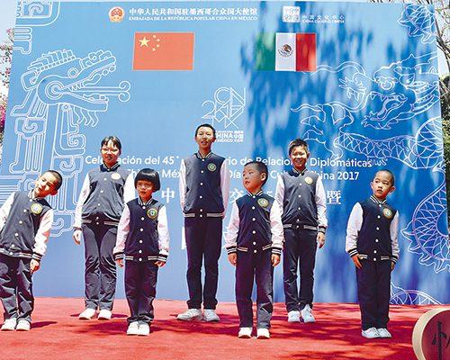 Celebran relación de China y México en su aniversario
