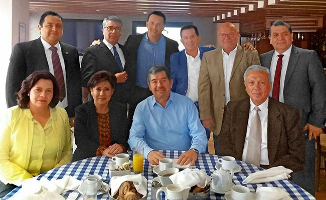 Encuentro de directores de medios con Juan Ramón de la Fuente. Foto: El Sol de Zacatecas