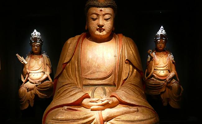 BUDA, CHINA, siglo XIV, Vanderven Oriental Art.