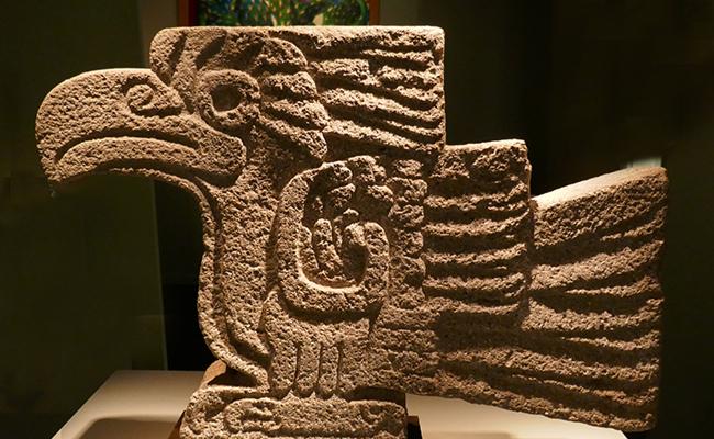 ÁGUILA DE tuba volcánica, c. 450-750, Teotihuacán, Galerie 1492.