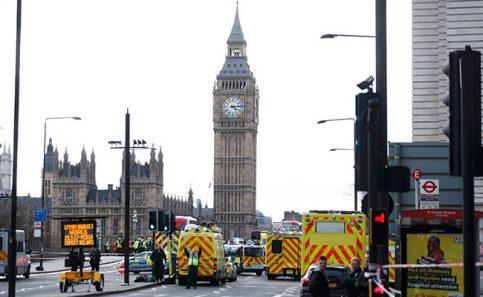 Confirman 4 muertos y 20 heridos tras ataque terrorista en Londres