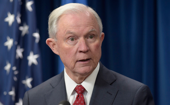 El Procurador General de EU, Jeff Sessions. Foto: AP