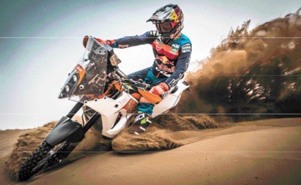 El motociclista Iván Ramíres domina el desierto