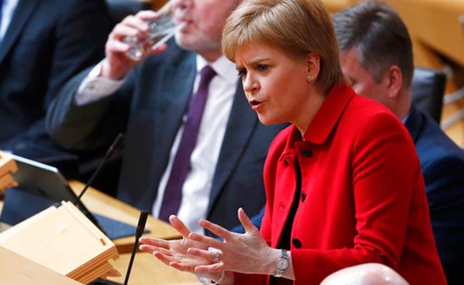 Primera ministra de Escocia, Nicola Sturgeon. Foto: AP
