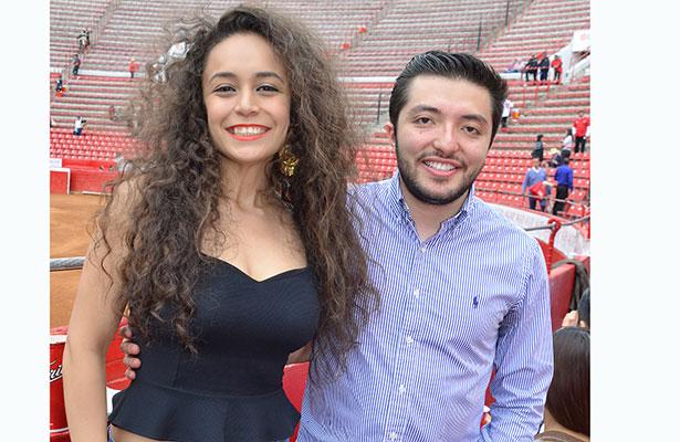 SARUN AURELIA Salinas y Miguel Ángel García.