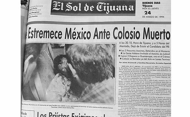 La noticia conmocionó a todo el país. Imagen: El Sol de Tijuana