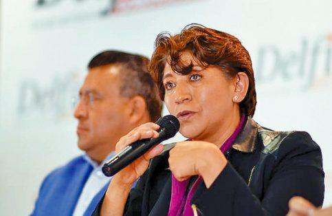Delfina Gómez calificó la captura de Duarte como un acto tardío.