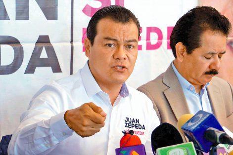 En caso de ganar, Juan Zepeda prometió que creará dos líneas de Metro y 10 de Mexibús.