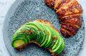 "Parte del menú de ""The avocado show"""