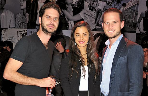 JAVIER SORDO, Andrea  Irarragorri y Fernando Sordo.
