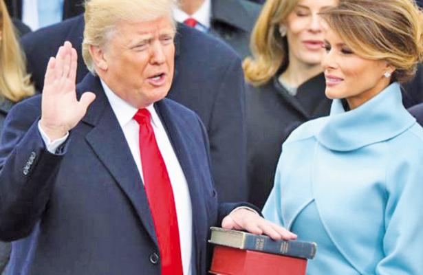 100 Días de Trump. El muro se derrumba antes de ser construido