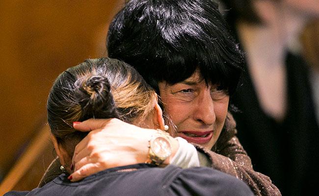 La madre del jugador. Foto: AP