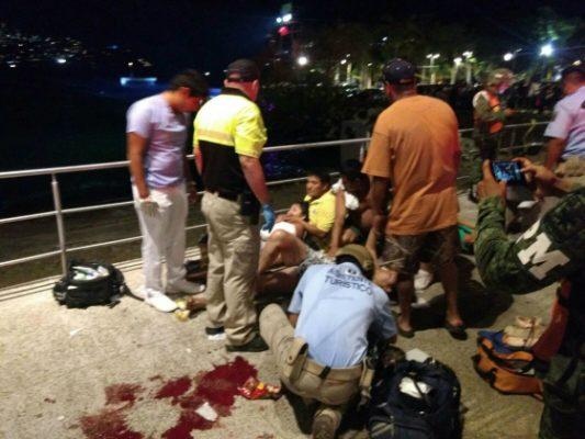 Se desata balacera en Acapulco; muere un hombre