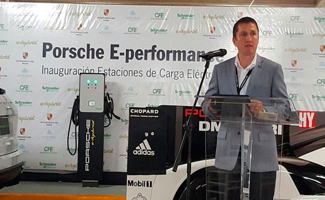 Edgar Casal, Director General de Porsche México. Foto: Especial