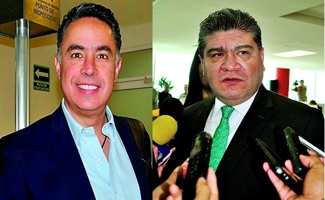 Guillermo Anaya y Miguel Riquelme. Foto: Especial