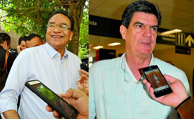 Javier Guerrero y José Ángel Pérez. Foto: Especial