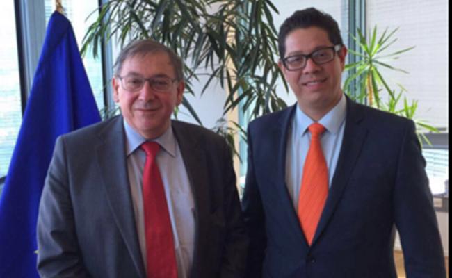 Nuevo acuerdo comercial entre México y UE podría sellarse este año: Carlos Baker. Foto: Carlos Baker twitter