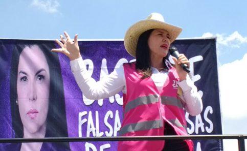 Teresa Castell interpuso una defensa de sus firmas.