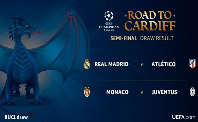 Foto: Twitter @ChampionsLeague