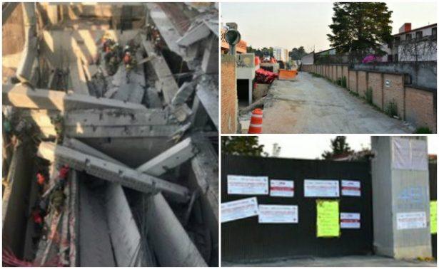 PGJ investiga derrumbe de construcción en Álvaro Obregón