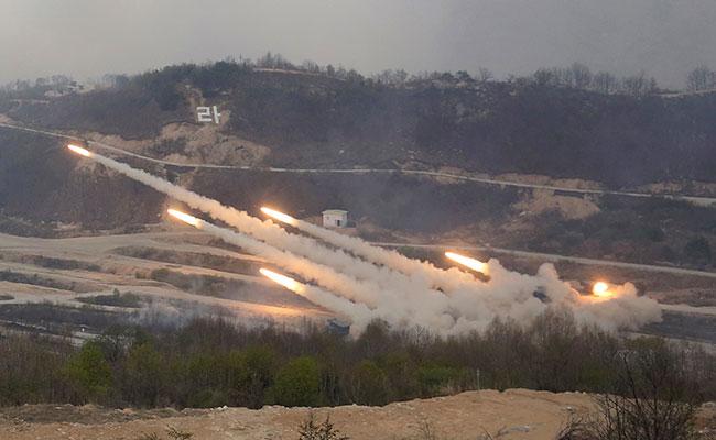 El Ejército norcoreano también ha hecho pruebas de sus misiles. Foto: AP