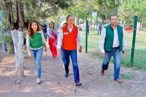 El candidato del PRI, Alfredo del Mazo Maza, afirmó que va por un debate propositivo.