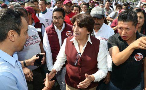 Reparto trastoca imparcialidad, aseguró Delfina Gómez.