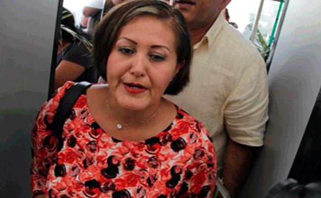 Se difunden videos donde recibe dinero en efectivo para ella y Andrés Manuel López Obrador. Foto: Jaime Rivera   Diario de Xalapa