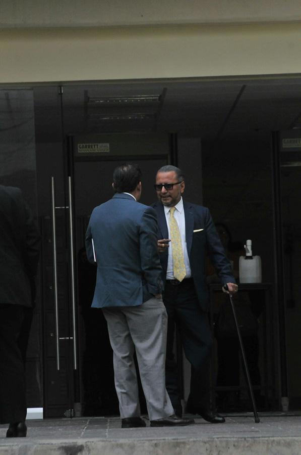 Gabriel Regino, abogado de dos víctimas / Foto: Omar Flores