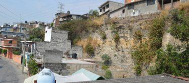 En riesgo, 600 familias en barrancas de Cuernavaca