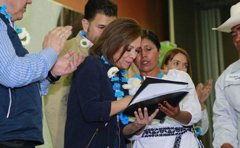 Josefina Vázquez crearía ventanilla única para discapacitados.