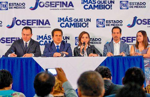 La candidata del PAN dio a conocer sus propuestas en materia económica.