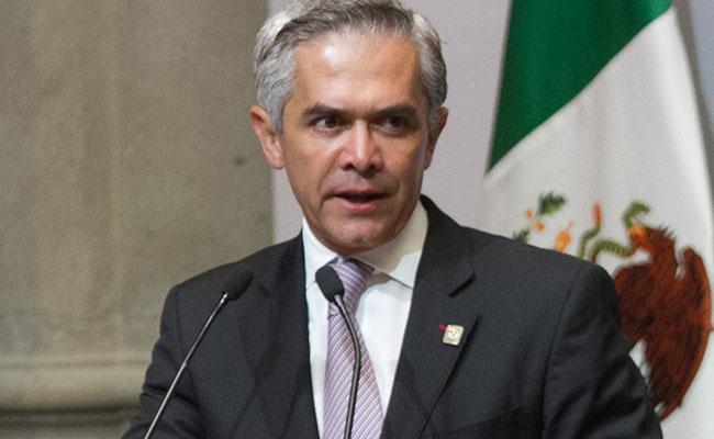 Miguel Ángel Mancera, jefe de gobierno capitalino