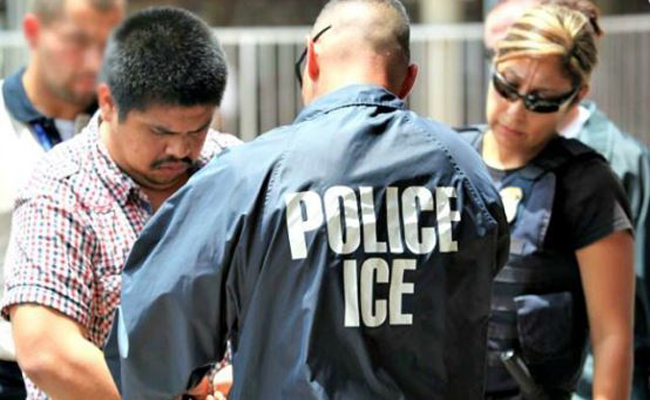 Foto: Conceal&CarryNetwork Detenciones recientes por Agentes de la Oficina de Inmigración y Aduanas (ICE)