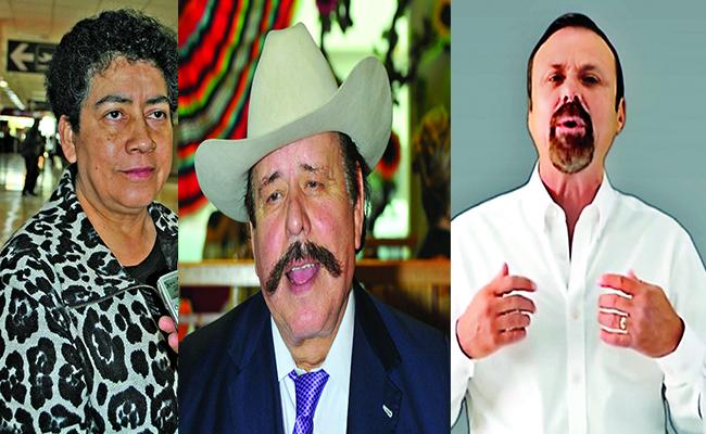 Mary Guajardo, Armando Guadiana y Luis Horacio Salinas. Foto: Especial