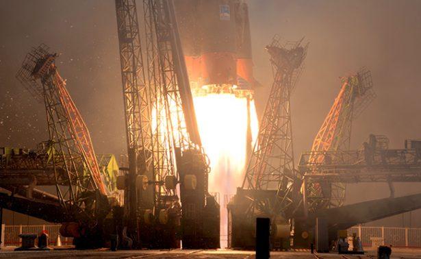 Despega el Soyuz