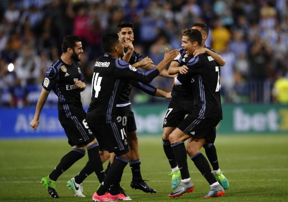 Real Madrid se proclama campeón de la Liga española