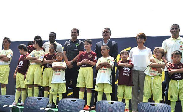 El Club América presentó al equipo especial
