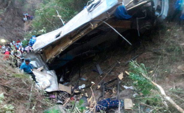 12 muertos, saldo preliminar de accidente en Motozintla