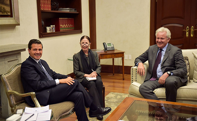 General Electric expresa a Peña Nieto interés proveedores mexicanos