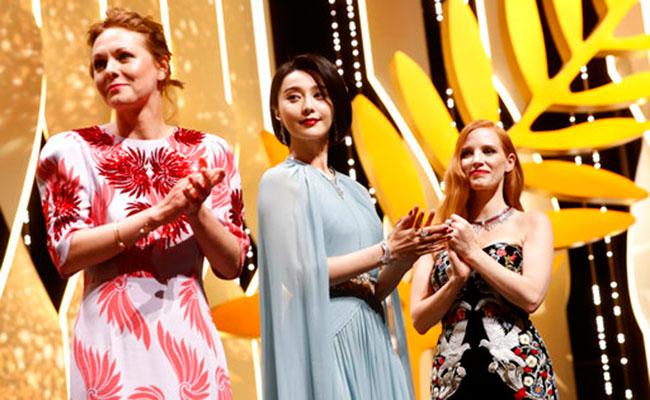 Miembros del jurado del festival. Foto: AP