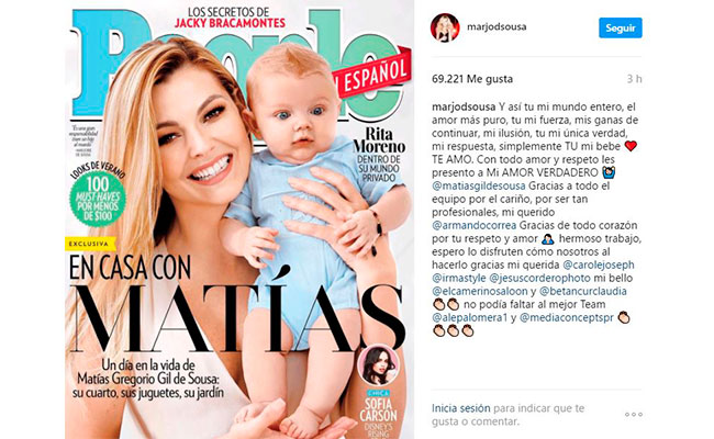 Foto: Instagram marjodsousa