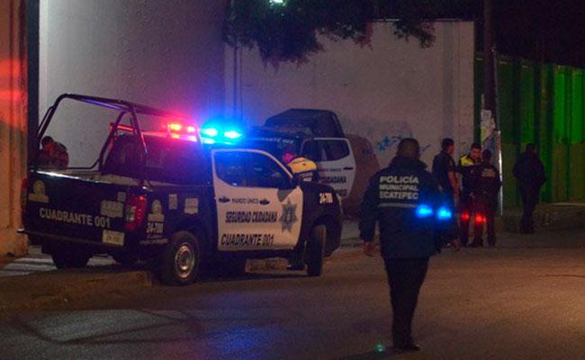 Matan a balazos a cinco policías de Ecatepec