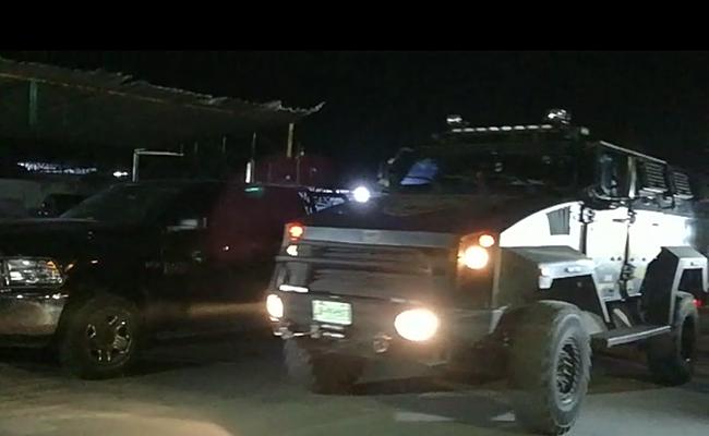 Fiscalía del Estado realiza operativo en Puente Grande