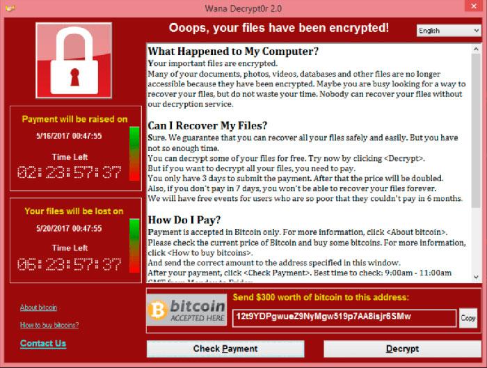Ciberataque masivo afecta miles de ordenadores alrededor del mundo