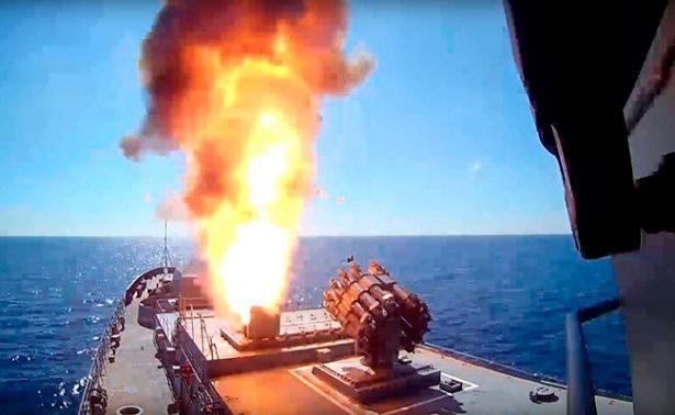 Rusia atacó con misiles bastiones de ISIS en Siria