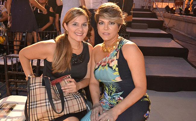 ROSA MANZÚR de Sosa y Gloria de León. Foto: Cortesía @HUGOLHERNANDEZ