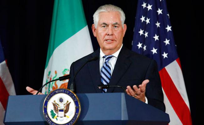 Rex Tillerson. Foto: AP