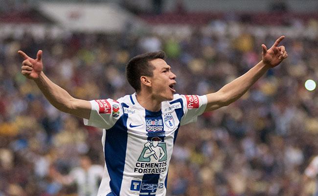 Hirving Lozano anotó 43 goles en sus 149 partidos oficiales con los Tuzos. Foto: Agencia Cuartoscuro