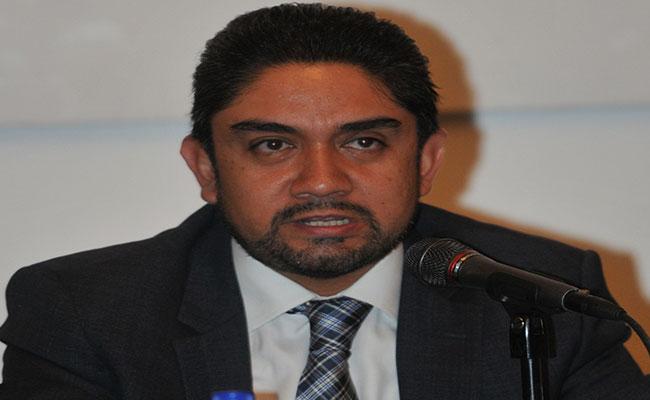El secretario de Obras y Servicios, Edgar Tungüi Rodríguez / Foto: José Luis Rubio